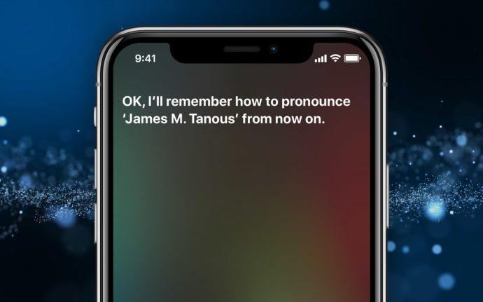 fix siri pronunciation