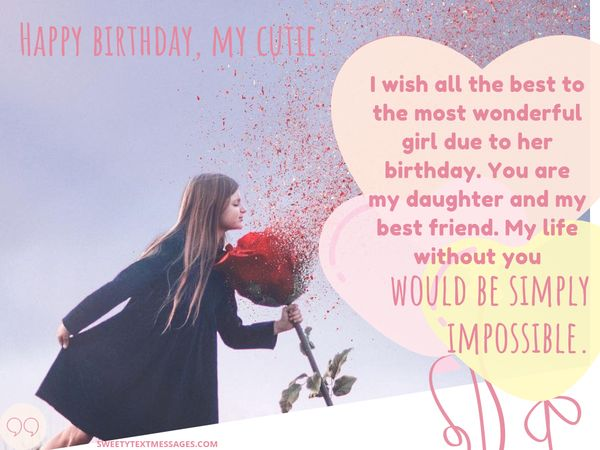 Fantastic Birthday Wishes For Daughter From Mother Personalised Birthday Cards Paralily Jamesorg