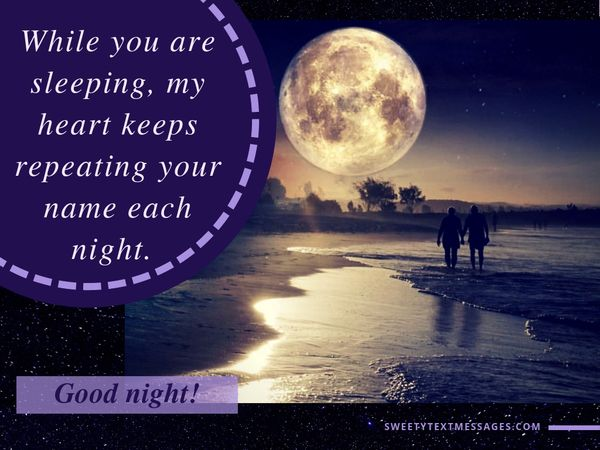 Romantic Good Night Quotes for Girlfriend 3