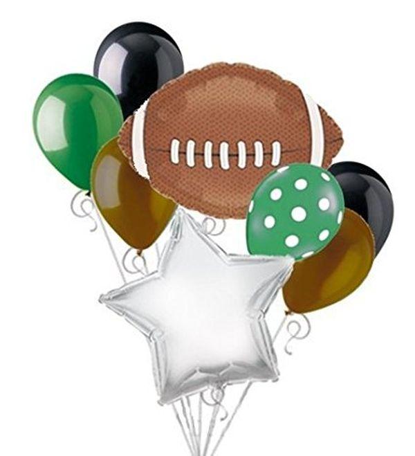Football Balloon Bouquet Set