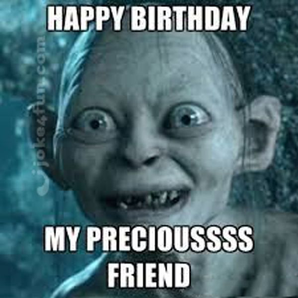 Awesome happy birthday meme to send to your best friend