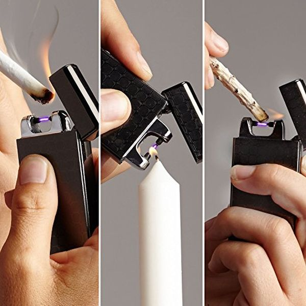 Rechargeable Flameless Plasma Beam Lighter