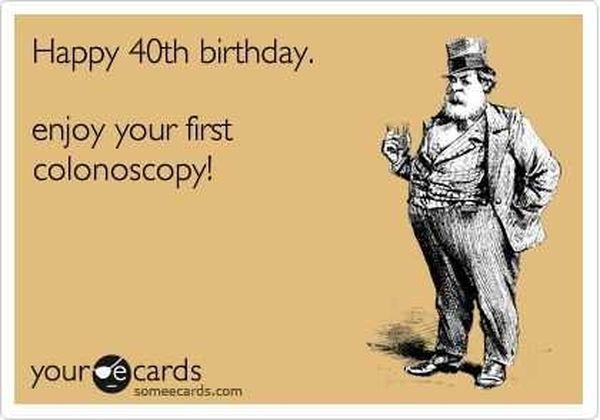 Nice Wonderful Meme for Happy 40th Birthday