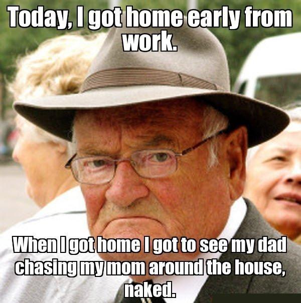 Cheerful funny angry man meme