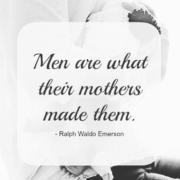 Fun quotes about the relationship between mother and son