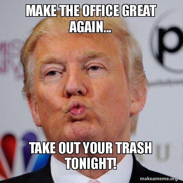 Великолепный мем вне офиса