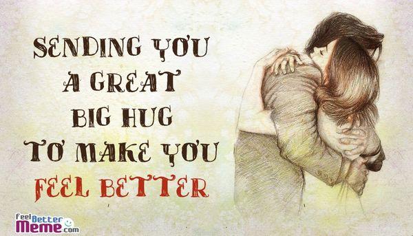Addictive big hug meme