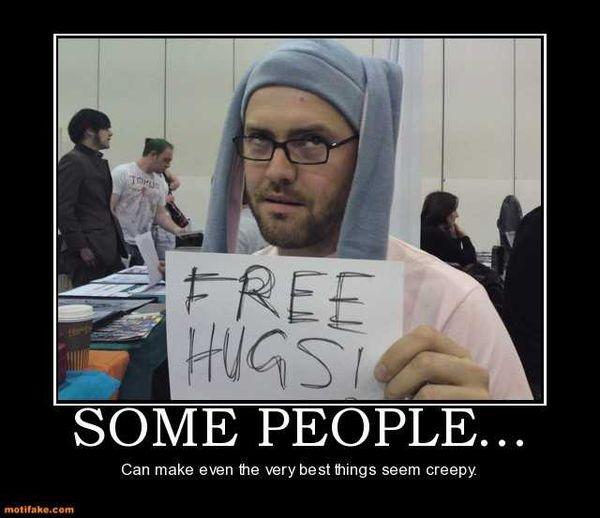 Good Creepy Hug Meme
