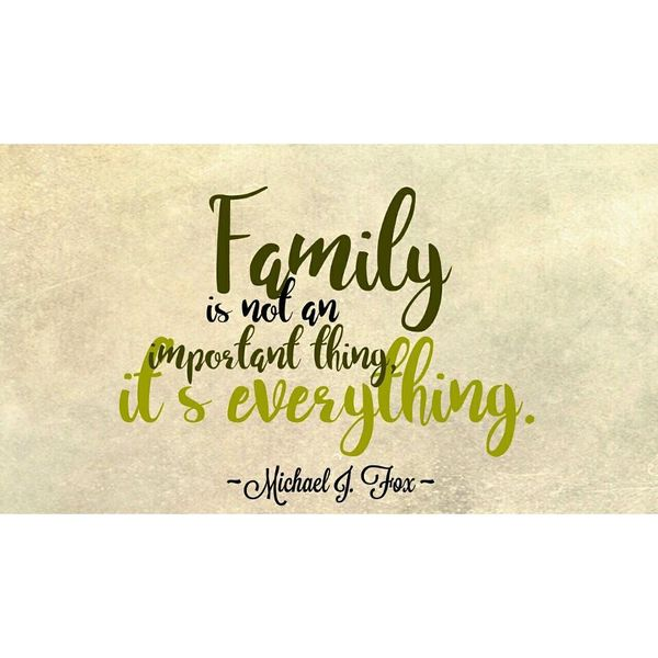 Family is Not an Important Thing.
