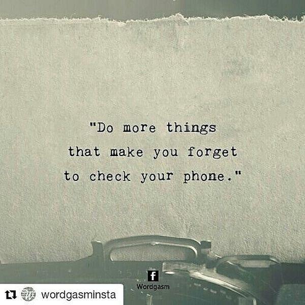Делайте больше вещей, которые заставят вас забыть проверить свой телефон