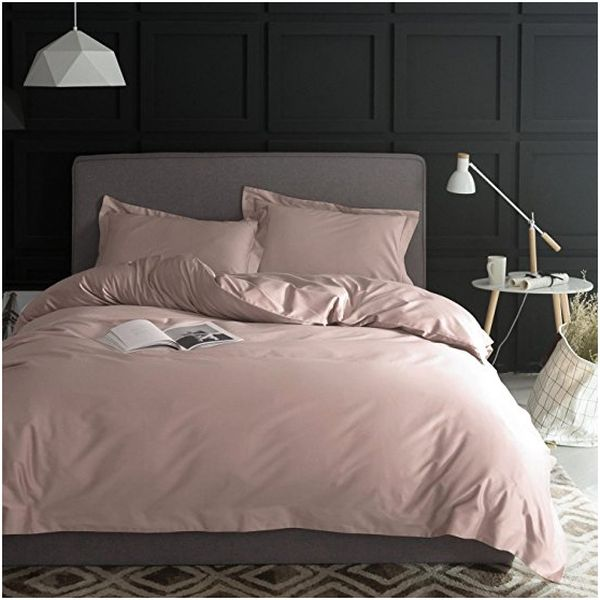 Solid Color Egyptian Cotton Duvet Cover