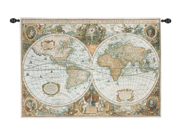 The World Tapestry Wall Hanging