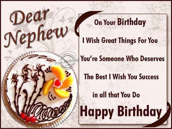 """Creative Quotes to Say """"Happy Birthday Nephew!"""""""