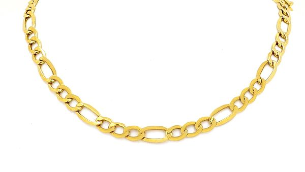 Hollow Figaro Chain Necklace