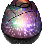 Star Light Rotating Projector With Sliver Cover