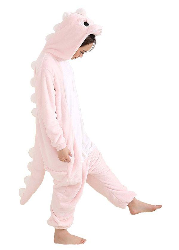 Aoibox Adult Dinosaur Plush One Piece Pajamas