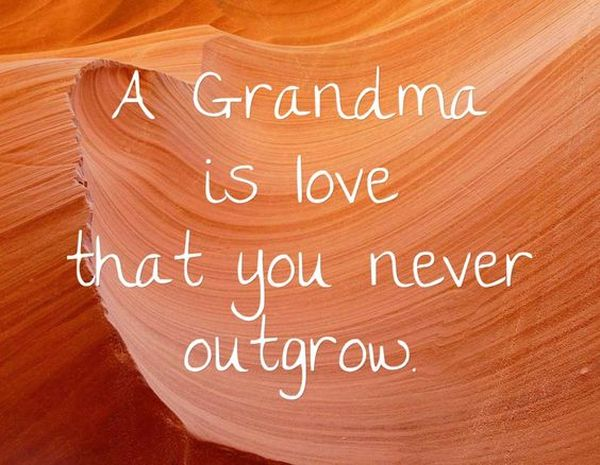 The Best Quotes about Grandma and Grandson Bond