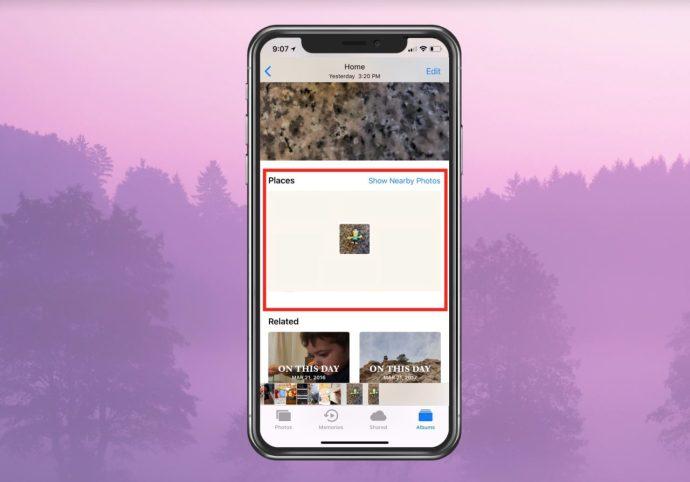 Location Data on iPhone