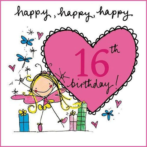 Happy 16th birthday to granddaughter