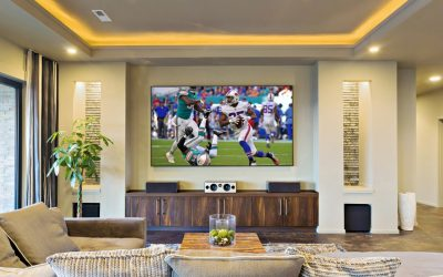 home theater football