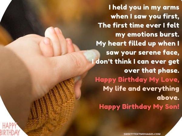 happy birthday son quotes from mom and dad
