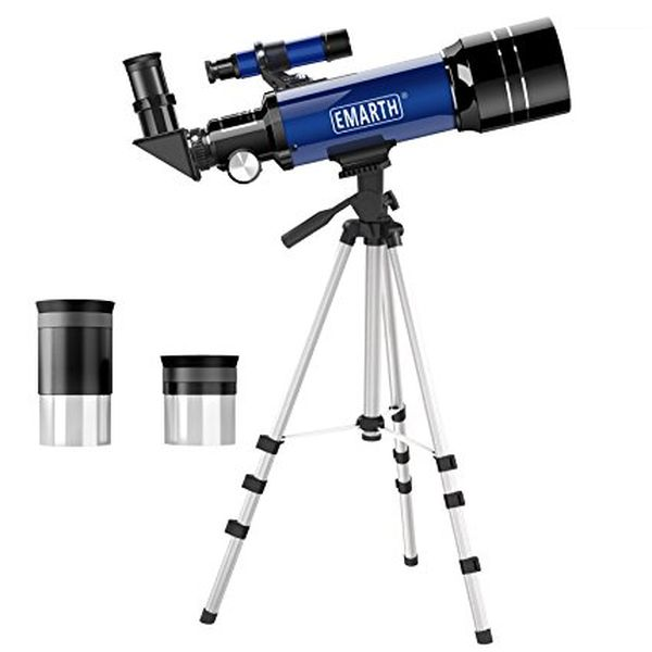 70mm Astronomical Refracter Telescope with Tripod & Finder Scope