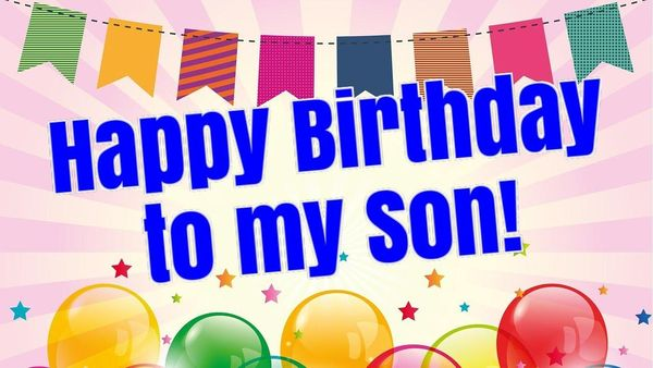 Cheerful Birthday Images for Son 1