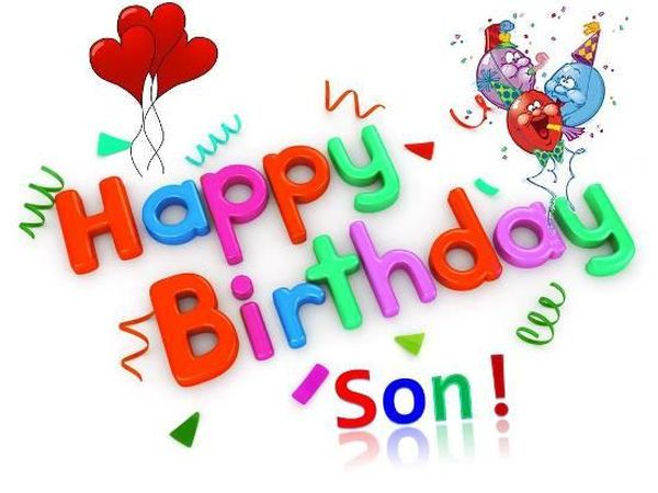 Cheerful Birthday Images for Son 2
