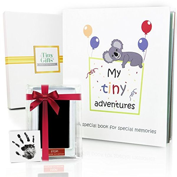 First 5 Years Baby Memory Book CleanTouch Ink Pad Gift Box