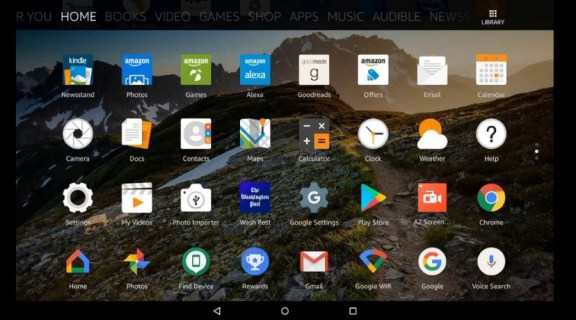 como descargar play store en tablet amazon fire 7