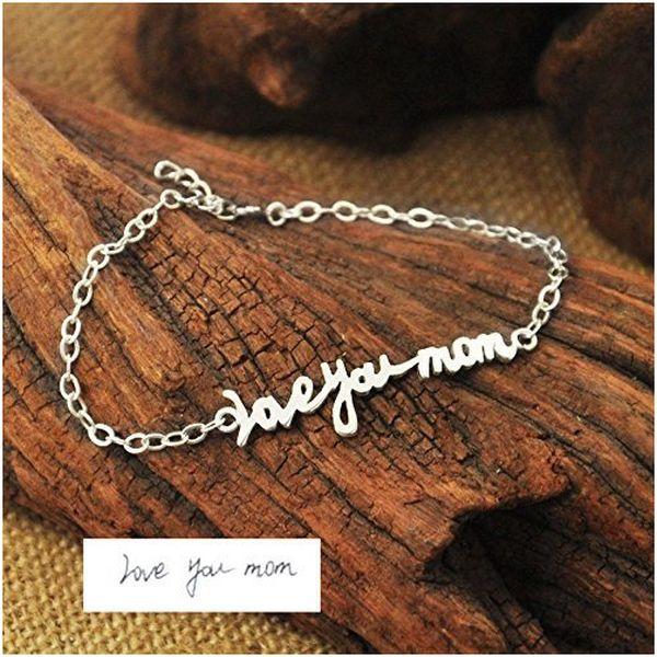 Personalized Signature Bracelet