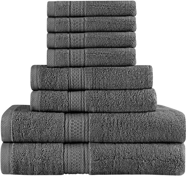Premium 8 Piece towel set