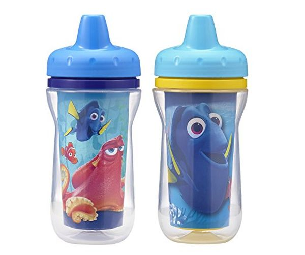 The First Years 2 Pack DisneyPixar Finding Dory Insulated Sippy Cup 9 Ounce