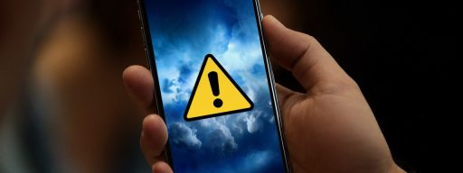 iphone x warning