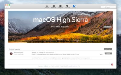 mac app store high sierra banner