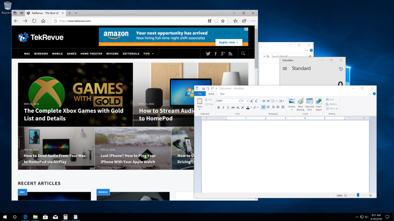 Two Ways to Disable Peek in Windows 10
