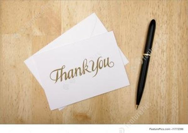 Best images of thank you letters