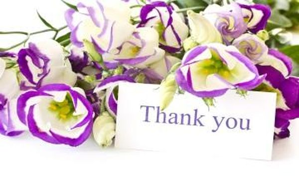 Cool Colorful Thank You Images with Flowers