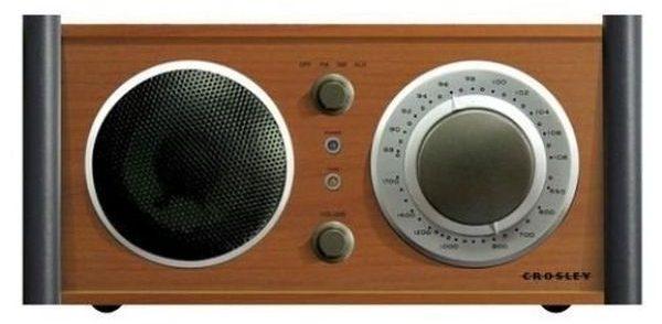 Crosley Audiophile AMFM Radio Receiver with Analog Tuner
