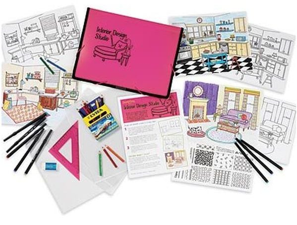 Interior Design Studio with Add-On Kits