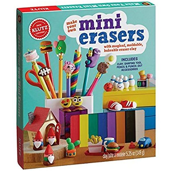 Make Your Own Mini Erasers - Craft Kit by Klutz