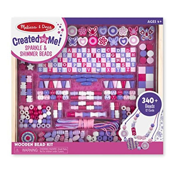 Melissa & Doug Wooden Bead Set