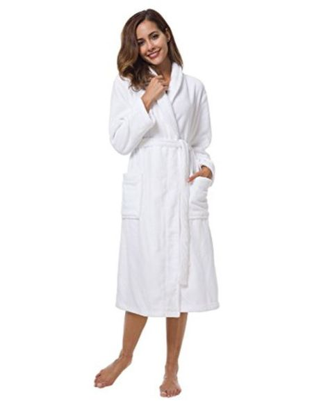 SIORO Women's Fleece Robe