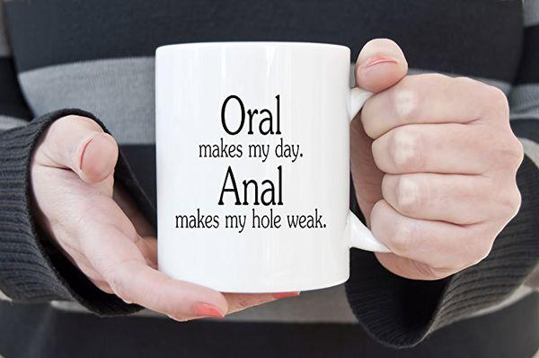 Sex joke mug bizarre gifts idea