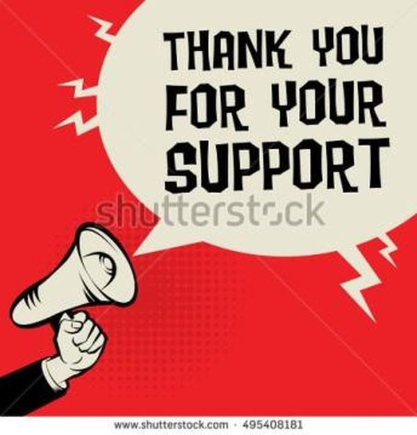 Cool Sincere Thank You for Your Support Images