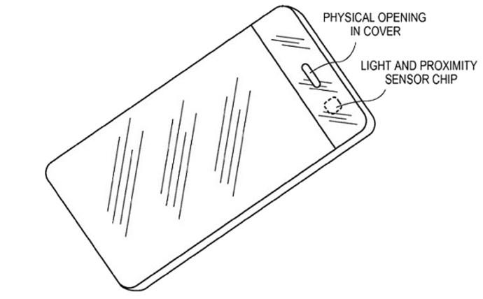 iphone ambient light sensor patent