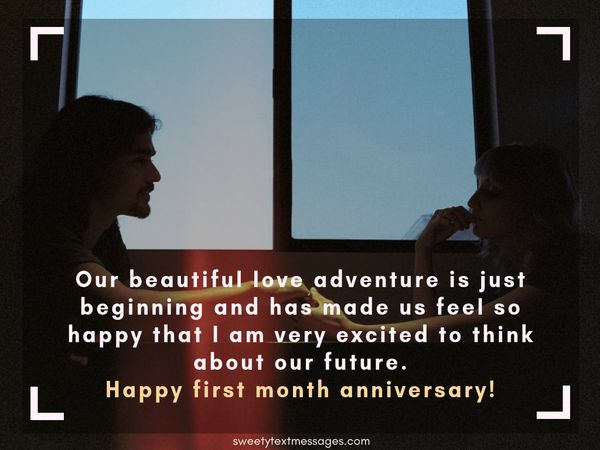Best Text Messages to Wish Happy One Month Anniversary