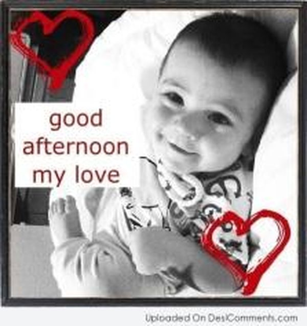 Cute good afternoon images to be used with love 2