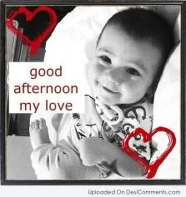 Cute Good Afternoon Images to Use with Love 2