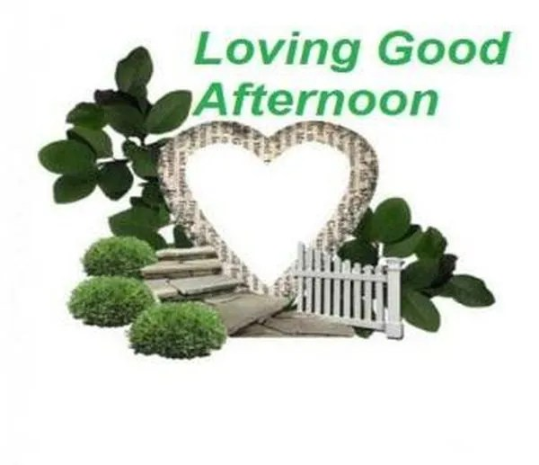 Cute Good Afternoon Images to Use with Love 7